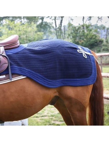 Padded exercice rug - Plain navy