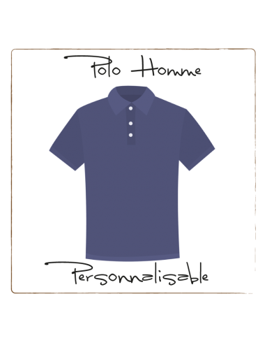 Polo - Homme Personnalisable