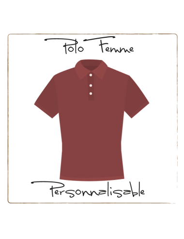 Polo shirt - Customizable women