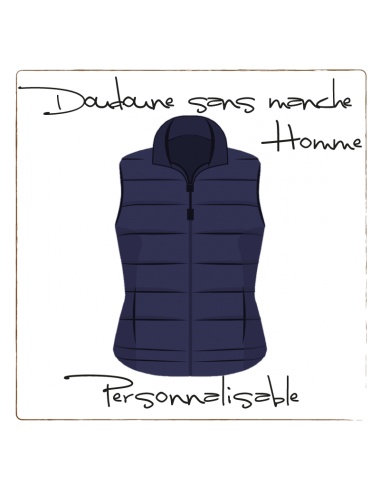 Light padded vest - Men