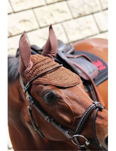 Bonnet Taille Poney - Chocolat (Taille 1)