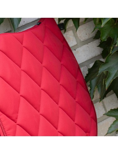 Prem's saddle pad - Plain red