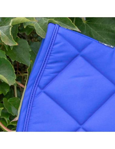Prems Saddle Pad - Plain royal blue