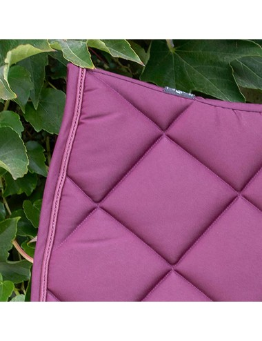 Prems saddle Pad - Plain plum