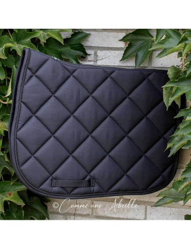 Prems saddle pad - Plain Black
