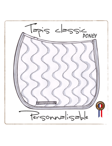 copy of Customizable classic saddle pad