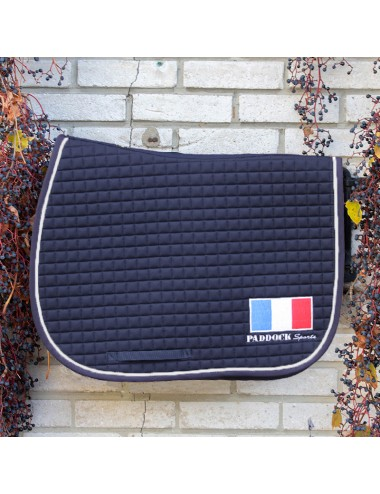 American saddle pad - France Flag