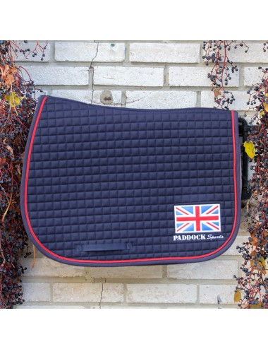 American saddle pad - UK flag