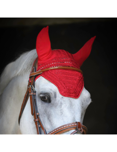 Bonnet Taille Poney - Rouge (Taille 1)