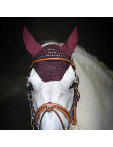 Bonnet Taille Poney - Prune (Taille 1)