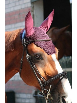 Ear Bonnet - Plum