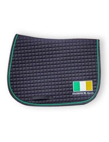 American saddle pad - Ireland flag
