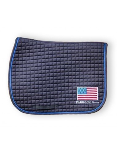 American saddle pad - USA flag