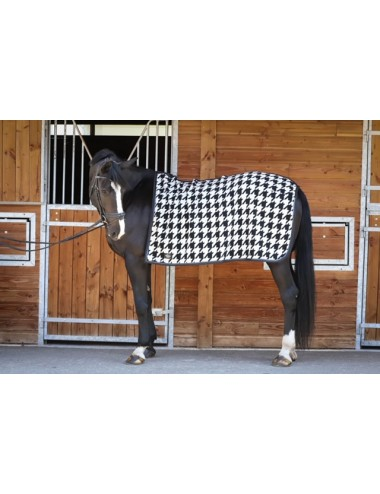 Exercice rug - Houndstooth
